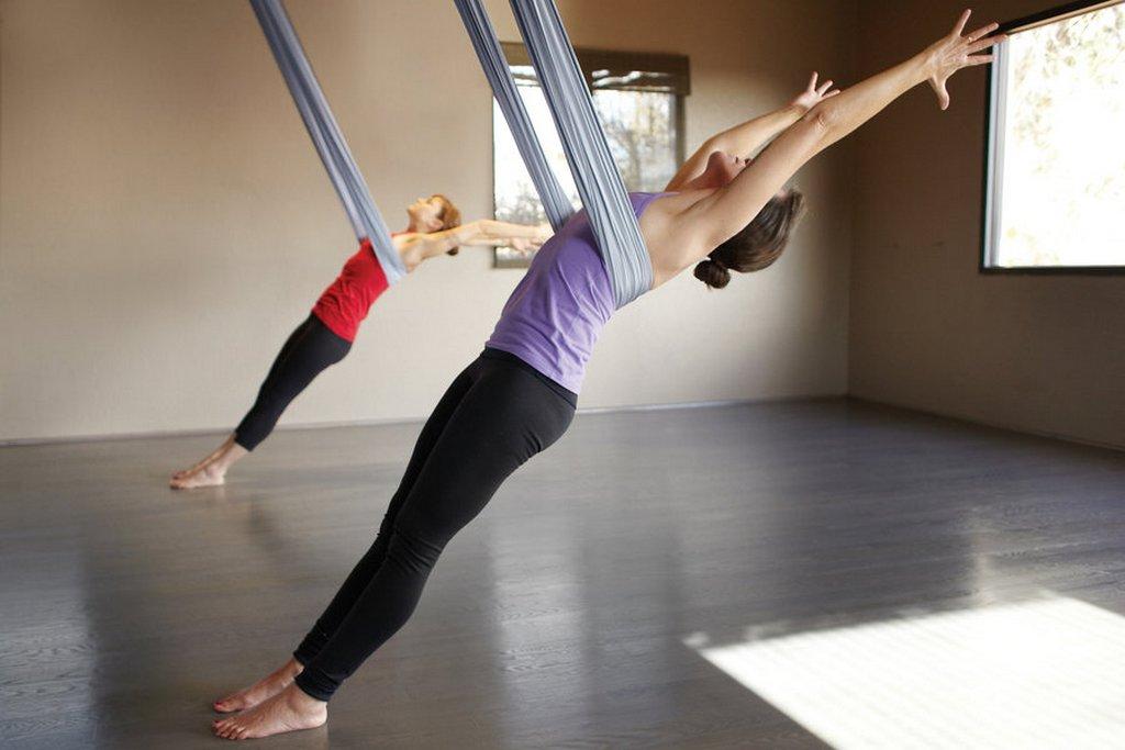 spa aerial yoga