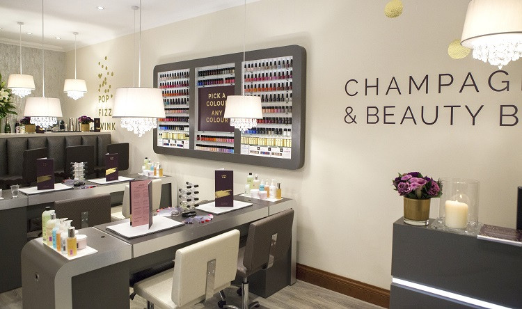 Beauty and bubbles at Celtic Manor